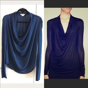 EUC Helmut Lang Kinetic T-shirt blouse sz medium